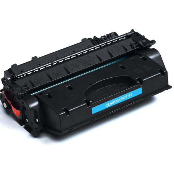 LCL-CE505X-05X-05-505X-CE505-CE-505-X-pack-Nero-6500-pagine-Laser-Cartuccia-di